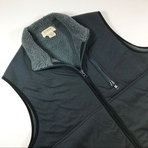 Men's J. Crew Vest Gray Zip Pockets